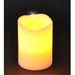 новогоднее украшение Triumph Tree свеча, теплый свет (10х7,5 см)