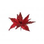 новогоднее украшение Triumph Tree цветок (30 см), красный