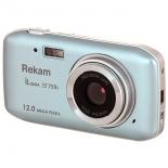 цифровой фотоаппарат Rekam iLook S755i, серебристый металлик