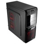 корпус компьютерный AeroCool V3X Advance Black Edition Black