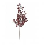 новогоднее украшение Triumph Tree веточка с ягодами (64 см), красная