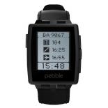 Умные часы Pebble Smartwatch Steel, черные