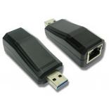 Сетевая карта Wi-Fi для ноутбука Speed Dragon USB 3.0 Gigabit Ethernet Dongle (FG-UNW07-1AB-BU01) OEM, купить за 1 065руб.