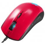 мышка Steelseries Rival 100 Forged, красно-черная
