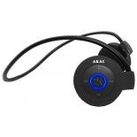 Гарнитура bluetooth Akai HD-152BR Bluetooth черные, купить за 1 990руб.