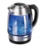 чайник электрический Redmond RK-G168-E, серебристый