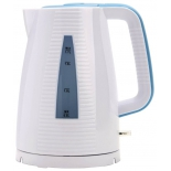 Чайник электрический Polaris PWK 1743C, голубой/белый, купить за 1 250руб.