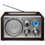 Радиоприемник Telefunken TF-1638U, темно-коричневый