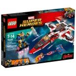 конструктор LEGO Super Heroes Реактивный самолёт Мстителей (76049)