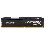 модуль памяти Kingston HX424C15FB2/8 (DDR4, 1x8Gb, 2400MHz, CL15-15-15, DIMM), HyperX Fury
