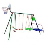 игровой комплекс Детский комплекс с батутом и баскетболом DFC MTB-01