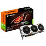 видеокарта GeForce Gigabyte GeForce GTX 1080 Ti 1544Mhz PCI-E 3.0 11264Mb 11010Mhz 352 bit DVI HDMI HDCP Gaming OC [GV-N108TGAMING OC-11GD]