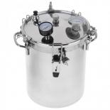 кухонный прибор Автоклав-стерилизатор УЗБИ  Домашний погребок Классик (14л), серебристый
