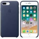 чехол для смартфона Чехол Apple для iPhone 8 Plus / 7 Plus Leather Case MQHL2ZM/A - Midnight Blue
