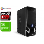 CompYou Home PC H557 (CY.563834.H557), купить за 16 830 руб.