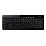 клавиатура Delux DLK-1500UB, черная