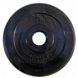 диск для штанги MB Barbel Atlet, (10 кг) черный