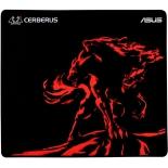 коврик для мышки Asus Cerberus Mat Plus, черно-красный