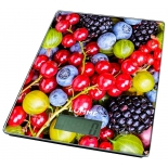 кухонные весы Lumme LU-1340 (рисунок ягодный микс)