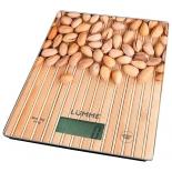 кухонные весы Lumme LU-1340 (рисунок ореховая россыпь)
