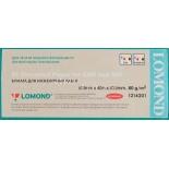 расходные материалы Lomond 1214201 (Рулонная бумага)