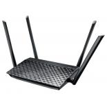 роутер Wi-Fi Asus RT-AC1200, черный