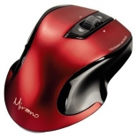 мышка Hama Wireless Laser Mouse Mirano, красно-черная