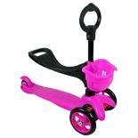 самокат для взрослых Explore Saddler Pink