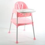 стульчик для кормления Funkids Eat And Play (и занятий), розовый