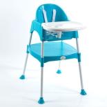 стульчик для кормления Funkids Eat And Play (и занятий), синий