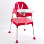 стульчик для кормления Funkids Eat And Play (и занятий), красный