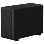 сетевой накопитель Synology DS216play черный