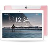 планшет Ginzzu GT-1040, 1Gb/16Gb LTE, розовый