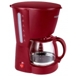 кофеварка Marta MT-2113, красный гранат