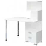 стол компьютерный Мэрдэс СКМ-60 БЕ-ЛЕВ  белый жемчуг