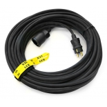 удлинитель электрический Lux УС1-Е-20 (У-161) (30020), черный