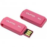 usb-флешка Qumo Twist 16Gb, розовая