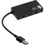 USB-концентратор Jet.A JA-UH37, черный