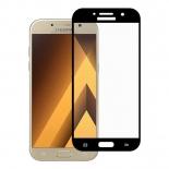 защитное стекло для смартфона Aiwo для Samsung A7 (2017) Full Screen, чёрное