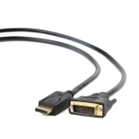 кабель (шнур) Gembird Cablexpert CC-DPM-DVIM-6, 1.8м