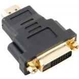 кабель (шнур) VCom VAD7819 (HDMI - DVI-D DL, M/F), черный