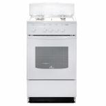 плита DeLuxe 5040.45г (щ)-001, белая
