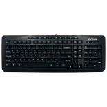 клавиатура Delux DLK-3100U черная