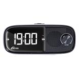 Радиоприемник Радиобудильник Ritmix RRС-090, белый