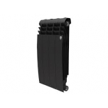 радиатор отопления Royal Thermo BiLiner 500 4 секции, noir sable