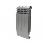 радиатор отопления Royal Thermo BiLiner 500 4 секции, silver satin