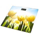 Напольные весы Lumme LU-1329 тюльпаны