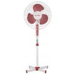 вентилятор Delta DL-020 N, белый с красным