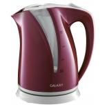 Чайник электрический Galaxy GL 0204, бордовый, купить за 1 020руб.