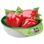 кухонные весы Centek CT-2454, бело-салатовые